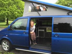 digital detox in a VW campervan