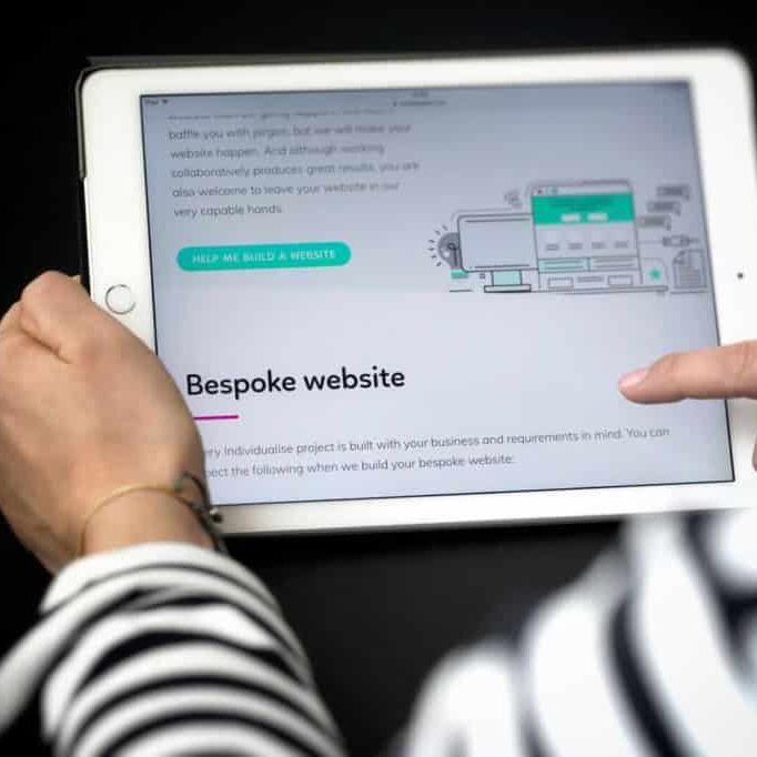 Bespoke websites in Bristol by Individualise